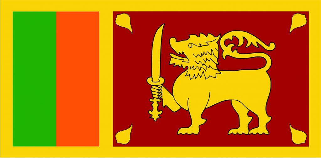 Custom National Flags Sri Lanka