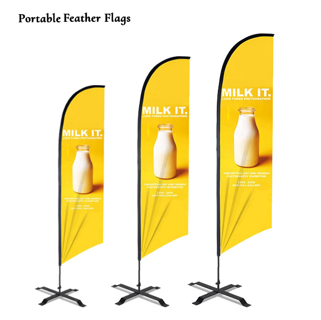 Portable Feather Flags Supplier Sri Lanka