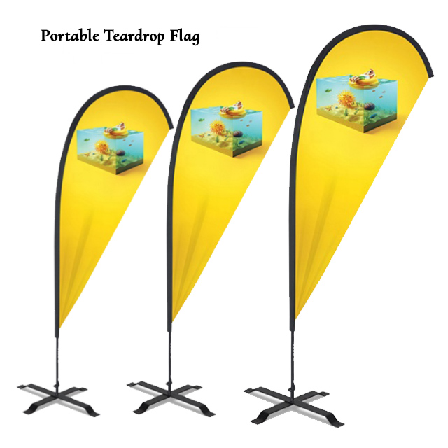 Portable Teardrop Flags Supplier Sri Lanka